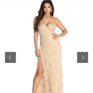 Anastasia Lace Formal Dress